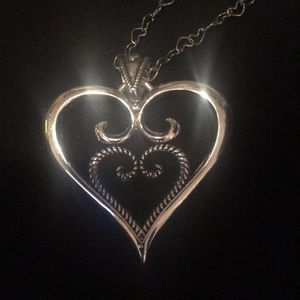 Jewelry - Sterling Silver Heart including matching chain